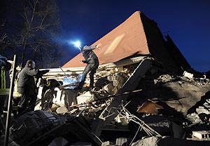 Зона бедствия - Италия. Фото