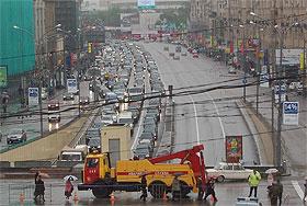 Москва встала и стоит. Фото