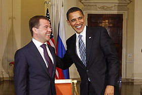 О чем будут говорить Обама и Медведев