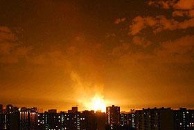 Последствия ЧП на юго-западе Москвы