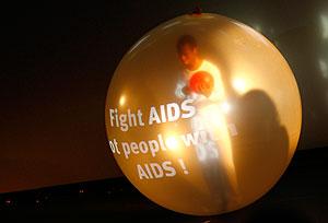 На карте – ВИЧ