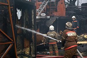 Пожар на Дубининской