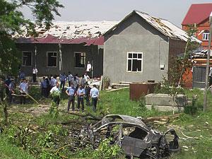 Покушение на президента Ингушетии. Фото