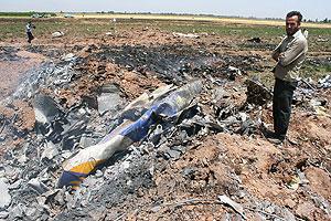 Катастрофа пассажирского самолета. Фото