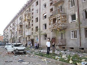 Взрыв в Назрани: 200 кг тротила
