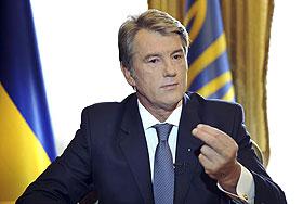 Ющенко исключает войну