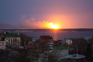 ЧП в Ульяновске. Фото