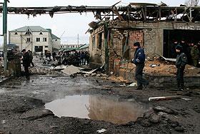 Взрыв в Махачкале