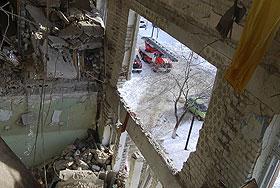 После взрыва. Фото