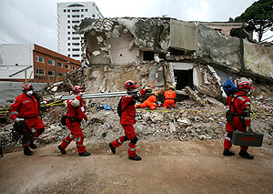 Землетрясение плюс цунами