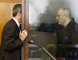 Президент с письмом Ходорковского знаком