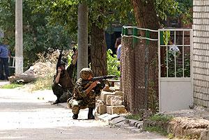 Московские теракты, дагестанский бой