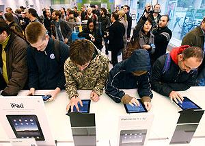 iPad: атака клонов