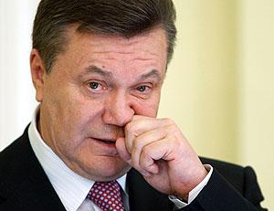 Янукович не признает Абхазию и Южную Осетию