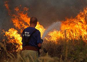 В чем причина пожаров