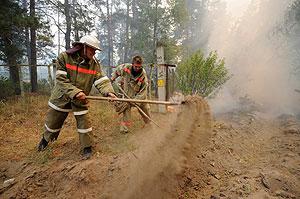 Контроль за чернобыльскими зонами