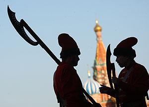 Русские люди, смелые и готовые ко всему