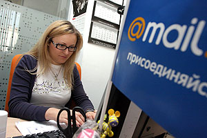 Mail.ru разместилась на миллиард