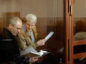Ходорковский и Лебедев: СИЗО до приговора