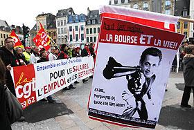 Саркози, пенсии и профсоюзы