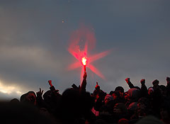 Фанаты на Манежной: как это было