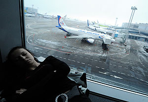 Аэропорты ждут