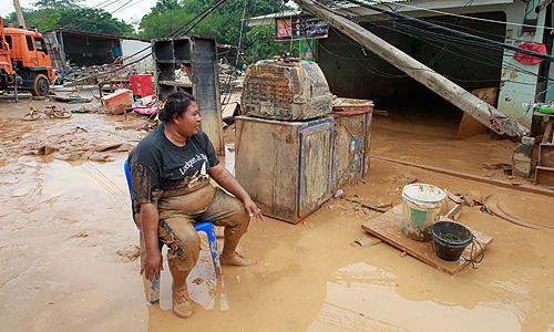 Наводнение в Тайланде