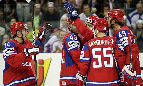 Чемпионат мира по хоккею: Россия - Финляндия