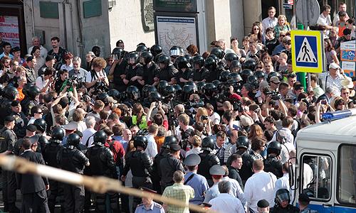 31-е мая на Триумфальной площади