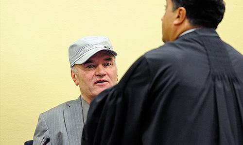 Ратко Младич предстал перед Гаагским трибуналом
