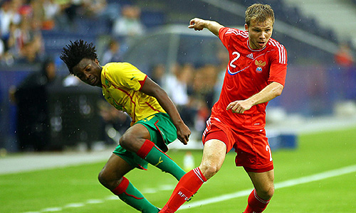 Товарищеский матч Евро-2012: Россия - Камерун
