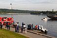 На Москве-реке затонул прогулочный катер