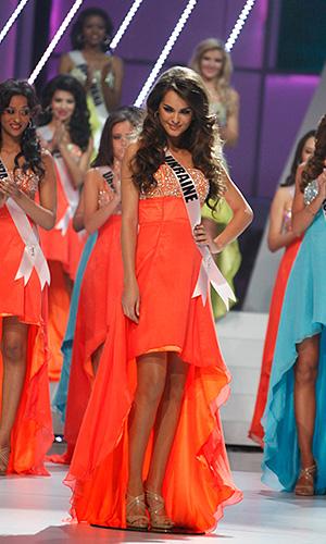 """""""Мисс Украина"""" Олеся Стефанко, ставшая первой вице-мисс."""