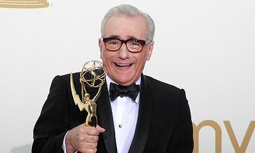 """Режиссер Мартин Скорсезе получил награду Emmy за режиссуру сериала """"Boardwalk Empire""""."""