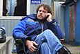 """Глава инвестиционно-девелоперской компании Nazvanie.net (бывшая Mirax Group) Сергей Полонский, на строительной площадке многофункционального комплекса """"Кутузовская миля"""", где он объявил голодовку в связи с рейдерским захватом территории комплекса."""