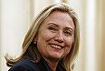 Госсекретарь США Хиллари Клинтон услышала известие о гибели Каддафи во время визита в Пакистан.
