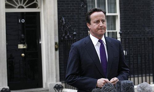 Британский премьер-министр Джеймс Кэмерон комментирует известие о гибели полковника Каддафи.