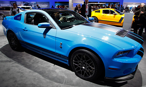 Ford Mustang Shelby GT500 2013 года.