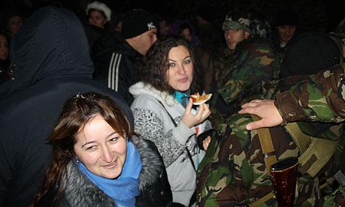 Ситуация в столице Южной Осетии
