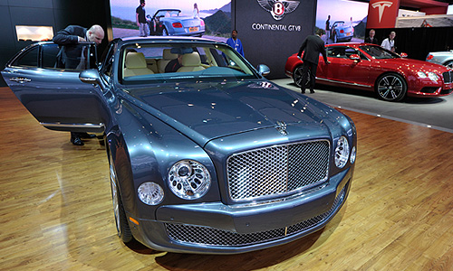 Автомобиль Bentley Mulsanne.