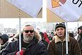Игорь и Игорь: пришли с сыном на митинг.