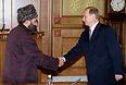 Встреча с Ахмадом Ходжи-Кадыровым, 1999 год.
