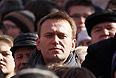 Алексей Навальный на Новом Арбате.