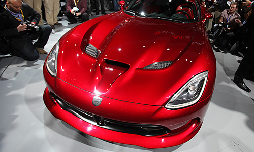 Chrysler SRT Viper 2013 года.