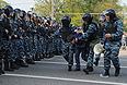 """Во время задержания участников акции """"Марш миллионов"""" на Болотной площади."""