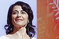 Член жюри Хиам Аббасс, на церемонии открытия 65-го кинофестиваля.