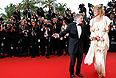 """Режиссер Роман Полански и актриса Настасья Кински перед показом фильма Алена Рене """"Вы еще ничего не видели""""."""