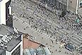 """Люди массово покидают акцию оппозиции на проспекте Академика Сахарова в Москве. Как передает корреспондент """"Интерфакса"""", большое количество людей уходит с митинга в сторону станции метро """"Чистые пруды""""."""