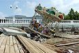 Последствия наводнения в Геленджике и Дивноморске