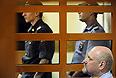 Бывший начальник Главного военно-медицинского управления Минобороны РФ Александр Белевитин, признанный виновным в служебных злоупотреблениях и получении крупных взяток, перед оглашением приговора в Московском окружном суде.